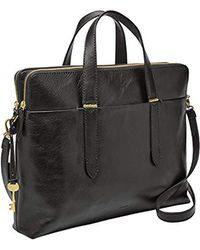 886743e15af Kipling Lizzie Solid Travel Laptop Tote Shoulder Bag in Metallic - Lyst
