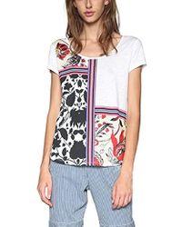 Desigual - Deo Short Sleeve T-shirt - Lyst