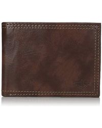 Dockers - Rfid Block Extra Capacity Leather Bifold Wallet - Lyst