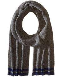 Ben Sherman - Placed Tipping Knit Scarf - Lyst