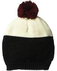 d191f35a29d Wigwam - Taso Knit Beanie Acrylic Pom Hat - Lyst