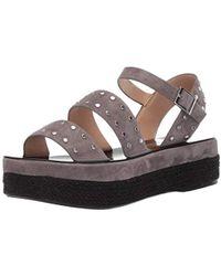 f04462a3270 Lyst - Jeffrey Campbell Madeira Embellished T-strap Sandal in Black