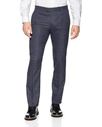 Theory - Marlo Tailored Gingham Pant - Lyst