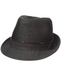 14c4a1db21666b Polo Ralph Lauren Hand-woven Straw Panama Hat in Black for Men - Lyst