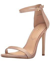 ALDO - Caraa Leather Dress Sandal - Lyst