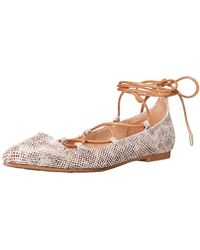 Chinese Laundry - Endless Summer Ghillie Flat - Lyst