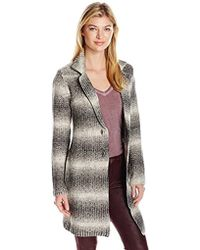 Lucky Brand - Ombre Car Coat - Lyst