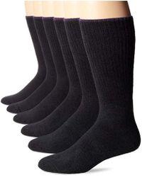 Ecco - 6 Pack Comfy Twisted Yarn Sock - Lyst