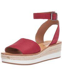 43995a81564 Lyst - Lucky Brand Platform Wedge Espadrille Sandals Lk Reandra in ...