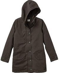 RVCA - Ground Control Sherpa Lined Jacket - Lyst