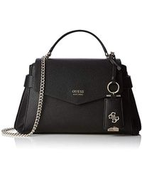 344d302868f1 Lyst - Michael Kors Colette Medium Embossed-Leather And Canvas ...