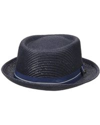 8dc01e376247b Urban Outfitters · Ben Sherman - Blocked Straw Pork Pie Hat - Lyst