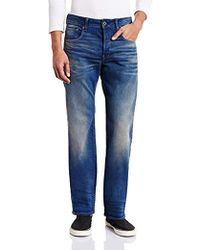 fe9eb438b243ba G-Star RAW Revend Super Slim Jeans in Black for Men - Lyst