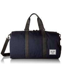 Lyst - Herschel Supply Co. Novel Duffle Bag Black in Black for Men ... c03bbf8b96c3f