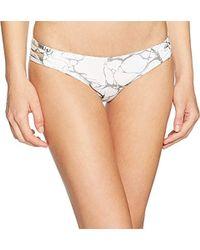 Hurley - Quick Dry Max Compression Marbled Bikini Bottom - Lyst