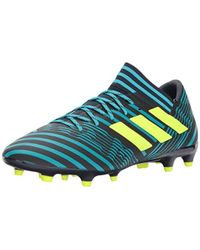 the latest 1fd7b 9112a adidas - Nemeziz 17.3 Fg Soccer Shoe, Legend Inksolar Yellowenergy Blue