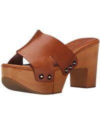 4d860bbb384 Lyst - Robert Clergerie Dobert Leather-blend Platform Sandals in ...