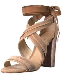 76b40ab3fd2 Lyst - Steve Madden Dream Ankle Tie Sandal in Green