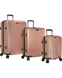 Anne Klein - 3 Piece Hardside Spinner Luggage Suitcase Set - Lyst