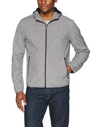 Tommy Hilfiger - Hooded Performance Soft Shell Jacket - Lyst