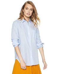 Equipment - Timeless Stripe Cotton Popplin Kenton Shirt - Lyst