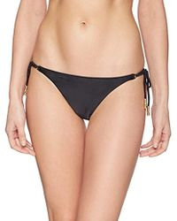5a2c383e31825 ViX - Black Lucy Long Tie Full Bottom - Lyst