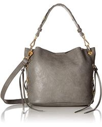 Betsey Johnson - Wild, Wild Bets Crossbody (grey) Hobo Handbags - Lyst