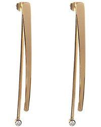 BCBGeneration - Bcbg Generation Linear Front Back Drop Earrings - Lyst