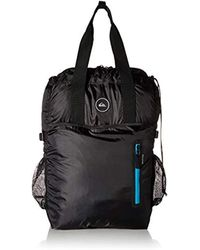 Quiksilver - S Packable Tote Black Backpack Size - Lyst
