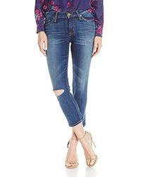 Hudson Jeans - Hudson Fallon 5 Pocket Skinny Crop Jeans - Lyst