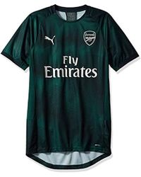 f56f2e8cb0af PUMA - Arsenal Fc Graphic Jersey With Epl Sponsor Logo - Lyst