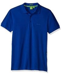BOSS - Boss Green Paule Slim Fit Knitted Pique Polo - Lyst