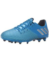 Lyst - Adidas Performance Messi 16.3 In Soccer Shoe - Shock Blue ... 8961be0188ae0