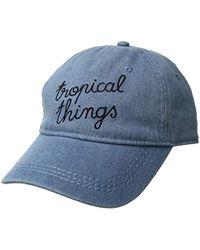795ae4caf48 Roxy - Dear Believer Baseball Hat Size - Lyst