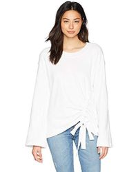 Stateside - Front Casing Bell Sleeve Pullover - Lyst