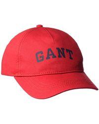 GANT - Twill Cap - Lyst