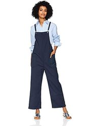 cfb07c2be292 AG Jeans - Ilene Wide Leg Overall - Lyst