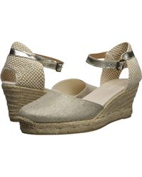 6a42a1dbb4df Soludos - Closed-toe Midwedge (70mm) Espadrille Wedge Sandal - Lyst