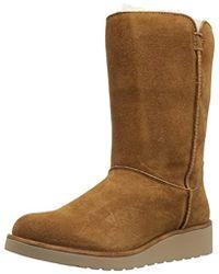 UGG Classic Slim Short Winter Boot - Brown