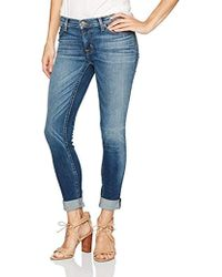 Hudson Jeans - Tally Rolled Crop Skinny Jean - Lyst