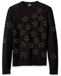 Just Cavalli - Star Sweatshirt - Lyst