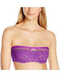 Betsey Johnson - Starlet Lace And Mesh Bandeau - Lyst