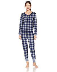 Tommy Hilfiger - Thermal Long Sleeve Ski Pajama Set Pj - Lyst