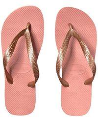 90b080c0abdf9 Havaianas - Top Tiras Sandals - Lyst