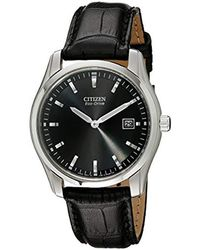 Citizen - Eco-drive Stainless Steel Watch, Au1040-08e - Lyst