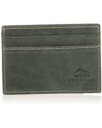 Buxton - Expedition Ii Rfid Blocking Leather Front Pocket Getaway Wallet - Lyst