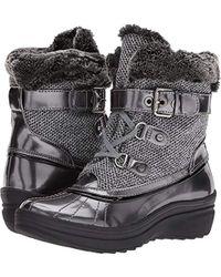 Anne Klein - Gallup Fabric Snow Shoe, - Lyst
