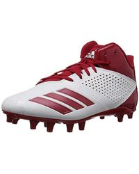 timeless design 60a6f a589d adidas - 5.5 Star Mid Football Shoe - Lyst