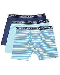 Kenneth Cole Reaction - Novelty 3 Pack Boxer Brief - Lyst