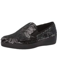 Fitflop - S Superskate With Sequins Slip-on Loafer, - Lyst